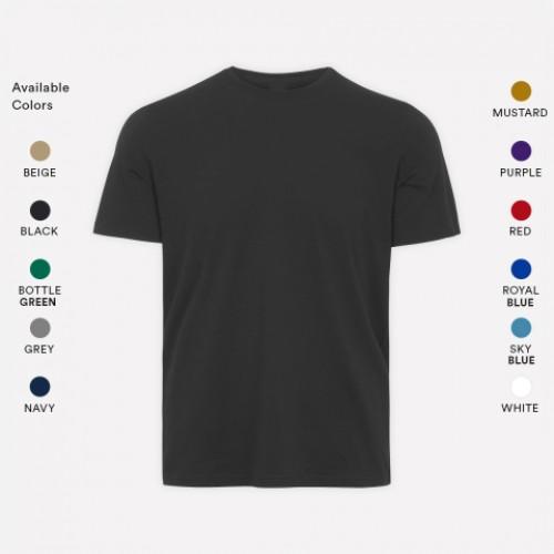 Crew Neck  T- Shirts (Unisex )