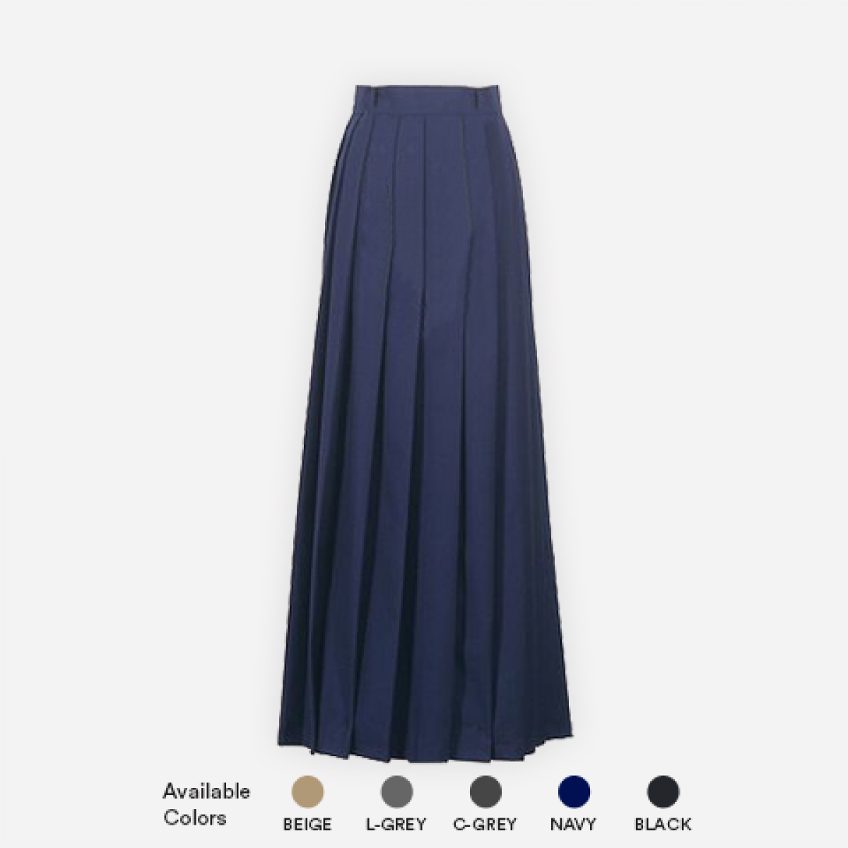 b10711ef0 Girls Ankle Length Knife Pleated Skirt |School Apparel |Grades Store ...