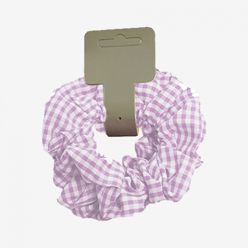 Gingham Scrunchies (Pack Of Two)